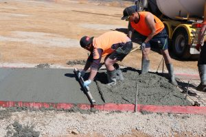 concreting Canberra