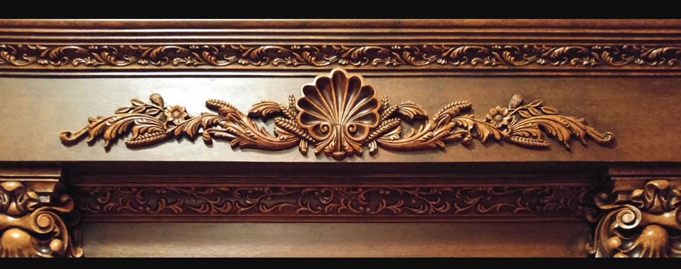 carved decorative wood mouldings
